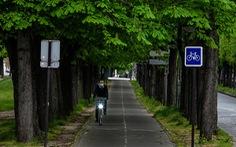 Xe đạp - lựa chọn của các đô thị Pháp sau phong tỏa