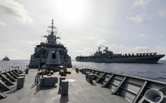 Úc tập trận với Mỹ gần khu vực tàu Hải Dương địa chất 8 của Trung Quốc ở Biển Đông