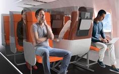 Thiết kế mới hạn chế lây nhiễm virus trên máy bay