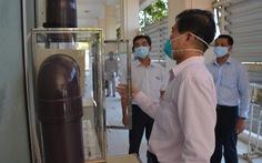 EVNGENCO3 trao tặng phòng cách ly áp lực âm cho tỉnh Bình Thuận