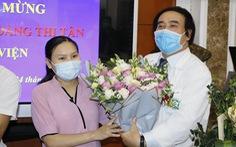 Sản phụ từng ngưng tim 120 phút được xuất viện
