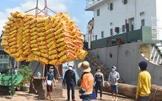 Hơn 38.000 tấn gạo được mở tờ khai hải quan trong 7 giây