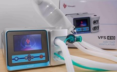 Vingroup làm xong hai mẫu máy thở xâm nhập, nội địa hóa 70%