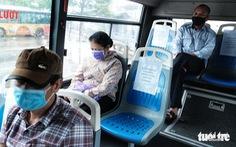 Phòng dịch COVID-19 thế nào trên phương tiện giao thông công cộng?