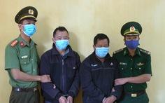 Bắt 2 đối tượng đưa người qua Trung Quốc với phí 500.000 đồng