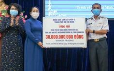 TP.HCM trao 30 tỉ đồng xây dựng bệnh xá trên đảo Nam Yết - Trường Sa