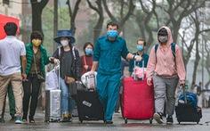 Hơn 240 người hết cách ly tại Hà Nội trở về địa phương
