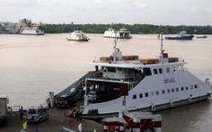 2/7 chiếc phà tại bến phà Cát Lái tạm dừng hoạt động sau va chạm tàu biển