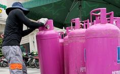 Gíá gas tăng 34.000 đồng/bình 12kg sau 3 tháng giảm