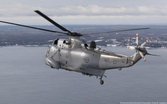 Trực thăng quân sự Canada mất tích ngoài khơi Hi Lạp