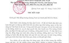 Sau thư kêu gọi 'đừng về quê', Quảng Nam vận động được 150 triệu giúp người khó khăn
