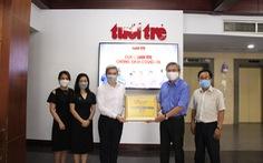 URC Việt Nam góp 1 tỉ đồng 'Cùng Tuổi Trẻ chống dịch COVID-19'