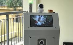 Việt Nam chế tạo thành công robot hỗ trợ bác sĩ chăm sóc bệnh nhân cách ly