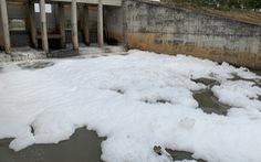 Nhà máy bột giặt và KCN là 'thủ phạm' làm kênh nổi bọt trắng xóa ở Bình Dương
