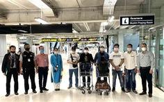 7 người Việt Nam bị kẹt tại sân bay Thái Lan về nước trên máy bay chở hàng
