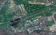 Sân bay Gia Lâm chỉ còn hoạt động bay quân sự