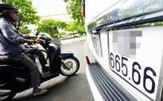 Người dân sắp được tự chọn biển số xe có trả phí, được đấu giá biển số đẹp?