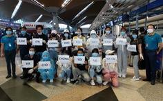 161 công dân Việt Nam về từ Mỹ âm tính với virus SARS-CoV-2