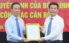 Bí thư Tỉnh ủy Thái Bình làm phó Ban Tuyên giáo Trung ương