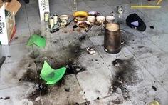 Tạm giữ 7 người ném 'bom xăng' khiến 4 người bị bỏng nặng