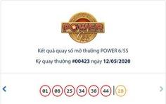 Vé trúng Jackpot 1 Power 6/55 trị giá 192 tỉ đồng được phát hành tại TP.HCM