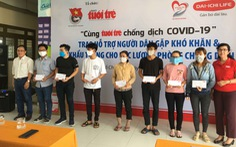 Báo Tuổi Trẻ hỗ trợ người dân khó khăn tại TP.HCM