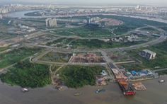 Bán đấu giá bốn lô đất ở khu đô thị mới Thủ Thiêm