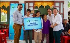 Trao nhà tình thương và công trình vệ sinh nước sạch tại tỉnh Tiền Giang