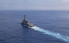 Tàu khu trục Mỹ vào gần Thượng Hải, lúc Trung Quốc đang tập trận