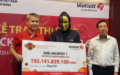 Một vé số bán ở TP.HCM trúng lớn gần 82 tỉ đồng Vietlott