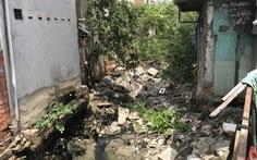 Nhiều hộ dân không chịu giao mặt bằng khơi thông kênh Hàng Bàng