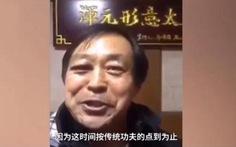 Bị đánh sưng mắt, võ sư Thái cực vẫn lên mạng quảng bá... kungfu Trung Quốc