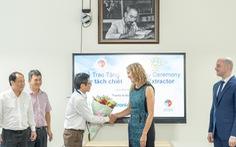 Doanh nghiệp Mỹ tặng Y tế TP.HCM máy hỗ trợ phòng dịch