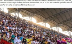 Báo châu Á sững sờ khi trận Nam Định - Hoàng Anh Gia Lai 'đông khán giả nhất thế giới'
