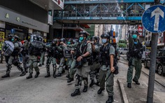 Chính quyền Hong Kong chỉ trích mạnh biểu tình bạo lực, cảnh sát: 'Không tha thứ'