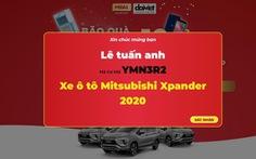 Daikiosan và Makano công bố người đầu tiên trúng ôtô Xpander Mitsubishi