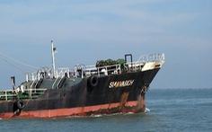 Cảnh sát biển bắt 'tàu ma' chở nhiều dầu lậu vào biển Việt Nam
