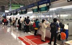 Vietnam Airlines đưa 340 công dân Việt về Hà Nội sau khi chở khẩu trang y tế cho Nhật