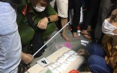 Bắt lô ma túy 'nước biển' khủng ở Huế