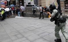 Biểu tình ở trung tâm Hong Kong, 180 người bị bắt