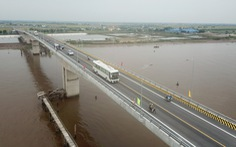 Thông xe cầu Thịnh Long nối 2 huyện ven biển của Nam Định
