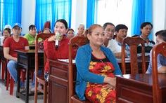 'Ngôi làng bền vững': Người dân được tập huấn nhiều kỹ năng hữu ích