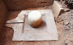 Khai quật được Linga - Yoni liền khối thế kỷ 9 lớn nhất Việt Nam tại Mỹ Sơn