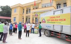 Wilmar CLV hỗ trợ hơn 250 tấn gạo, gần 100 ngàn lít dầu