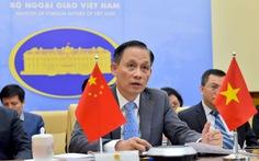 Việt Nam, Trung Quốc trao đổi vấn đề phức tạp ở Biển Đông gần đây