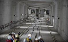 Nhà ga ngầm Ba Son tuyến metro đã thành hình giữa lòng Sài Gòn