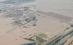 Đập hồ chứa xây 3 năm đã vỡ, dân nước láng giềng cũng phải sơ tán
