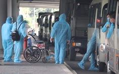 344 công dân Việt Nam từ Singapore đã về sân bay Cần Thơ
