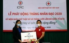 Sanofi quyên góp 1,3 tỉ đồng cho Hội Chữ thập đỏ Việt Nam