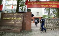 3 lãnh đạo Sở Tài nguyên - Môi trường Hà Nội bị yêu cầu 'nghiêm túc rút kinh nghiệm'
